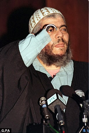 Abu Hamza was this year handed a life sentence by a New York judge for supporting terrorism