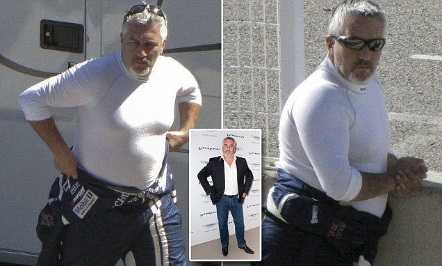 Great British Bake Offs Paul Hollywood Sports A SERIOUSLY