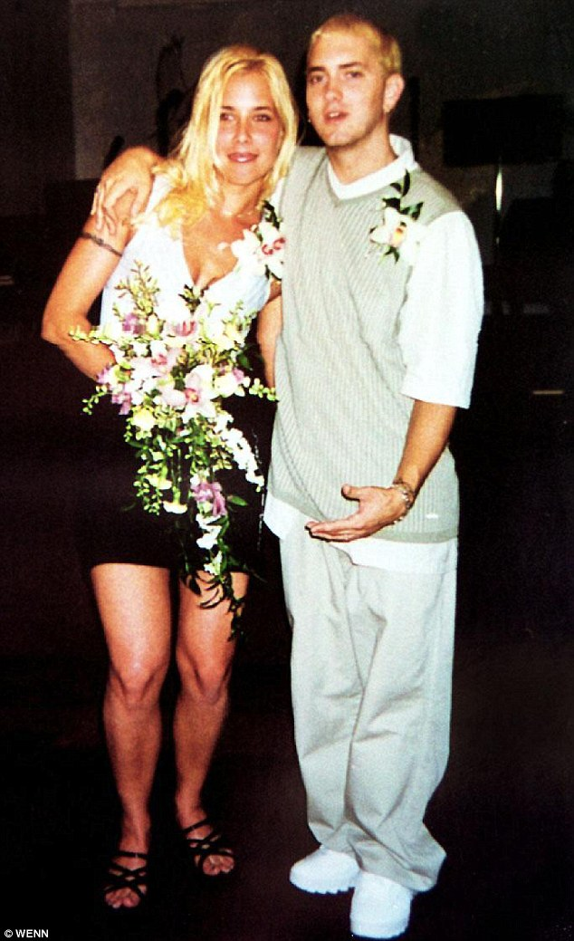 Eminem with his only biological daughter, Hailie Jade Scott Mathers