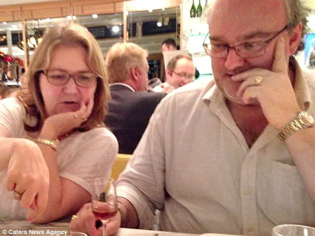 Sally Adey, 57 (left), was one of 20 tourists gunned down by Islamic fanatics as they stepped off a bus at the Bardo Museum. Her husband Robert Adey, 52 (right) a partner in a Birmingham law firm, was unharmed