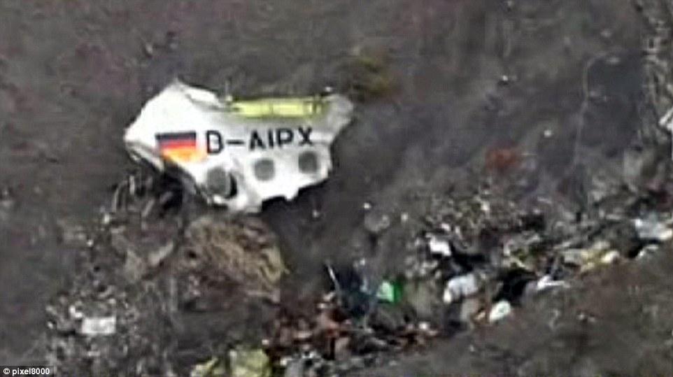 Sezione della fusoliera del Airbus A320 Germanwings