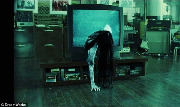Stuff of nightmares: As the demonic omen, Daveigh affected a rather large number of people's relationships with their TV set
