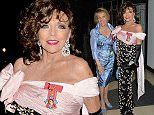 26/03/2015<br /> Dame Joan Collins  DameHood Party at Claridges Ballroom Mayfair London<br /> Dame Esther Rantzen  &amp; Dame Joan Collins