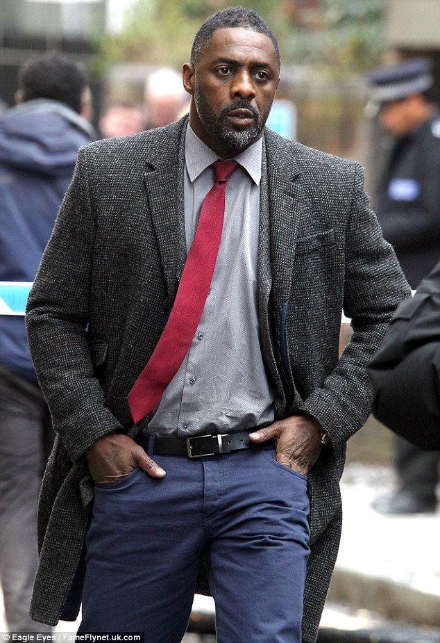 Bond? Might Sir Roger Moore be even more politically incorrect than his old alter ego James Bond by saying Idris Elba (pictured) can not play the role because he isn't 'English English'