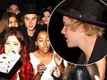 Justin Bieber poses with fans as he left Mastro's Steakhouse in Beverly Hills, CA <p>Pictured: Justin Bieber<br /> Ref: SPL986082  270315<br /> Picture by: Roshan Perera / Splash News</p> <p>Splash News and Pictures<br /> Los Angeles: 310-821-2666<br /> New York: 212-619-2666<br /> London: 870-934-2666<br /> photodesk@splashnews.com
