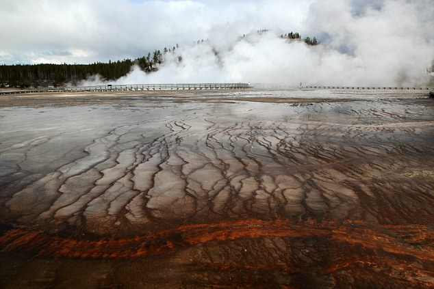 Sivkov wrote a column in the Military-Industrial Courier that Russian should develop a small force of megaweapons that can cause tsunamis and seismic activity at Yellowstone National Park (pictured)