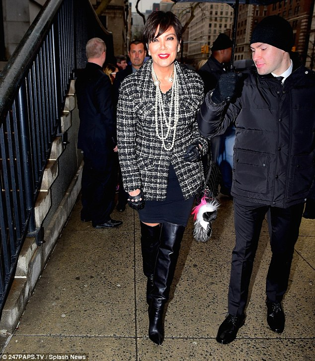 Kris Jenner Attends Chanel Event Amid Claims Bruce Jenner