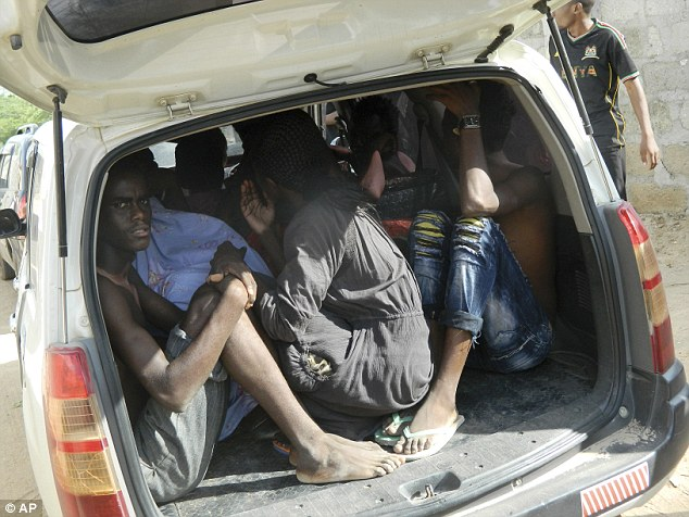 Students fled the area, some of them in bare feet, after the al-Shabaab terrorists launched their attack