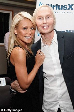 Television personality Kelly Ripa and Dr. Frederic Brandt attend Dr. Fredric Brandt's SiriusXM launch event at SiriusXM Studio on September 26, 2011