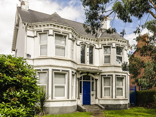 Site 1: The Kincora children's home in Belfast. Mr Kerr said he was one of three youngsters who were taken from the home to London in the 1970s