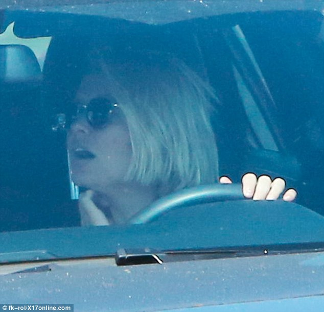 Looking both ways: In May 2014, Lara was handed a six month suspended jail sentence after a series of driving offences in Australia