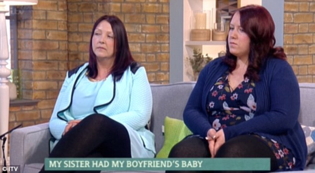 Shock: Leanne also spoke of the moment that she realised her sister's baby had been fathered by her partner