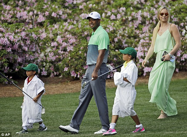 Tiger Woods And His Family