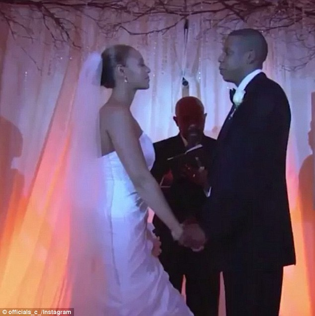The vows: Back in 2008, the two married in secret, keeping their precious wedding day to themselves