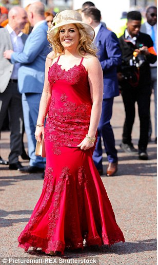 Ladies in red: Along with bridal white, cheerful crimson also struck a chord with the ladies and it proved a popular choice