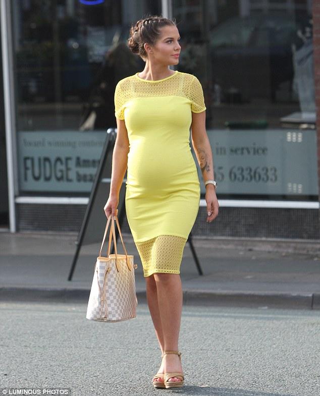 Yellow Maternity Dress Baby Shower