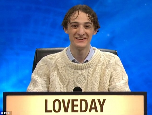 University Challenge Contestant Ted Loveday Correctly Answers Ten