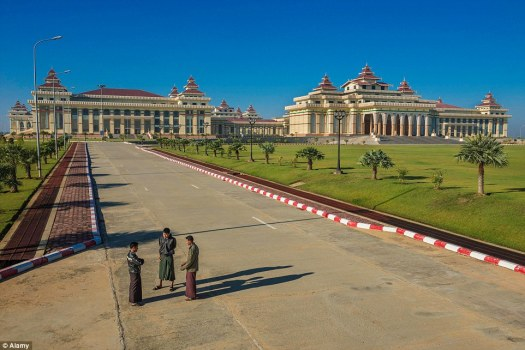 Inside Myanmar's haunting capital city, Naypyidaw | Daily ...