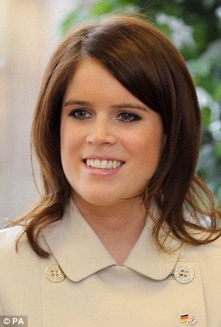 Princess Eugenie moves to 8th place