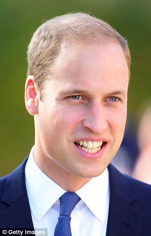 Prince William takes the number two spot