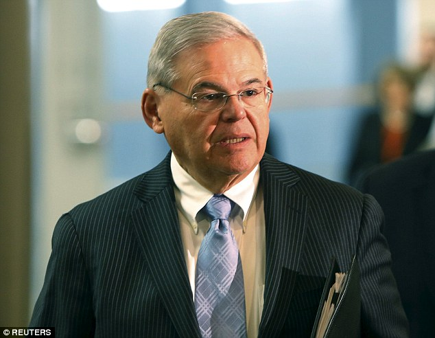 Corrupt? U.S. Senator Robert Menendez faces the possibility of 15 years in prison if convicted of eight counts of bribery for using his political influence to help a wealthy donor in exchange for nearly $1million in campaign contributions and gifts
