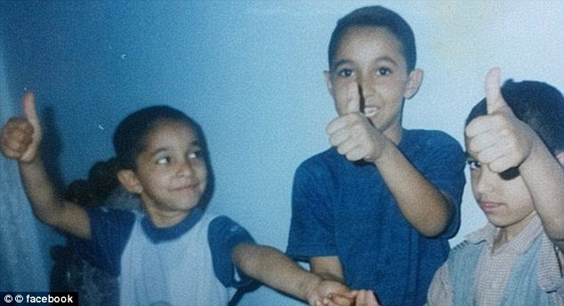 The Deghayes brothers while they were young. Their family insist they went to Syria to help the weak