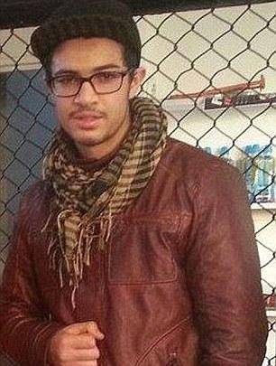 Jaffar Deghayes who was shot in Syria