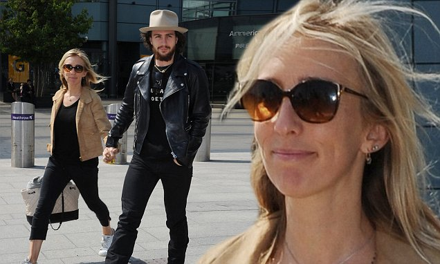 Aaron Taylor-Johnson and wife Sam touch down in London for ...