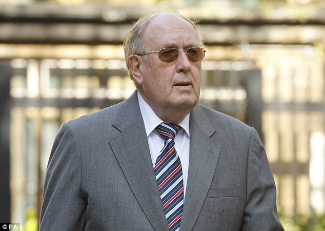 Pleading not guilty: Mote (pictured again today) allegedly fraudulently claimed almost £500,000 in expenses