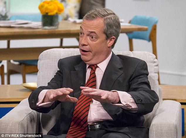 """El líder del UKIP, en Lorena de ITV esta mañana, dijo que """"millones"""" de los refugiados podría llegar en los barcos en Europa en los próximos años a menos que se interceptan y se volvió ahora"""