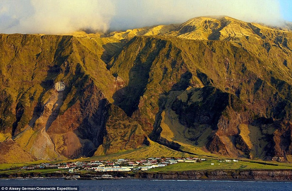 The most remote location in the world:Tristan da Cunha is situated over a thousand miles from the nearest land and has 300 residents