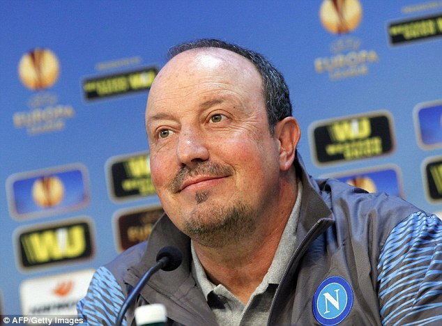 Rafael Benitez shrugs off Manchester City link as Napoli boss insists ...
