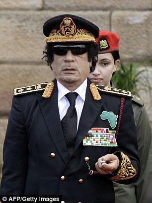 Former dictator Colonel Gaddafi
