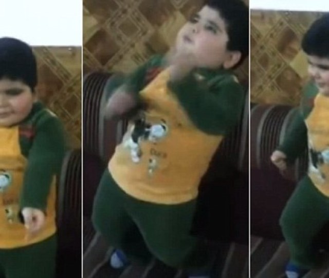 Young Boy Becomes An Online Sensation After Starring In Dance Videos Daily Mail Online