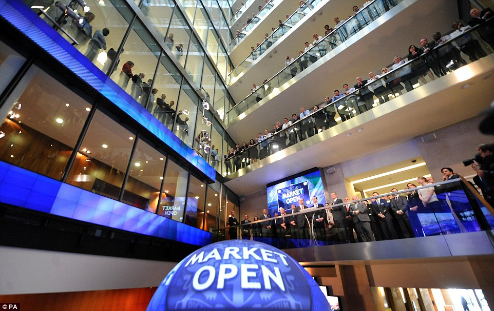 Investment: Qatar Holding, which also has shares in Barclays and Sainsbury's, owns a 10 per cent stake in the London Stock Exchange, above