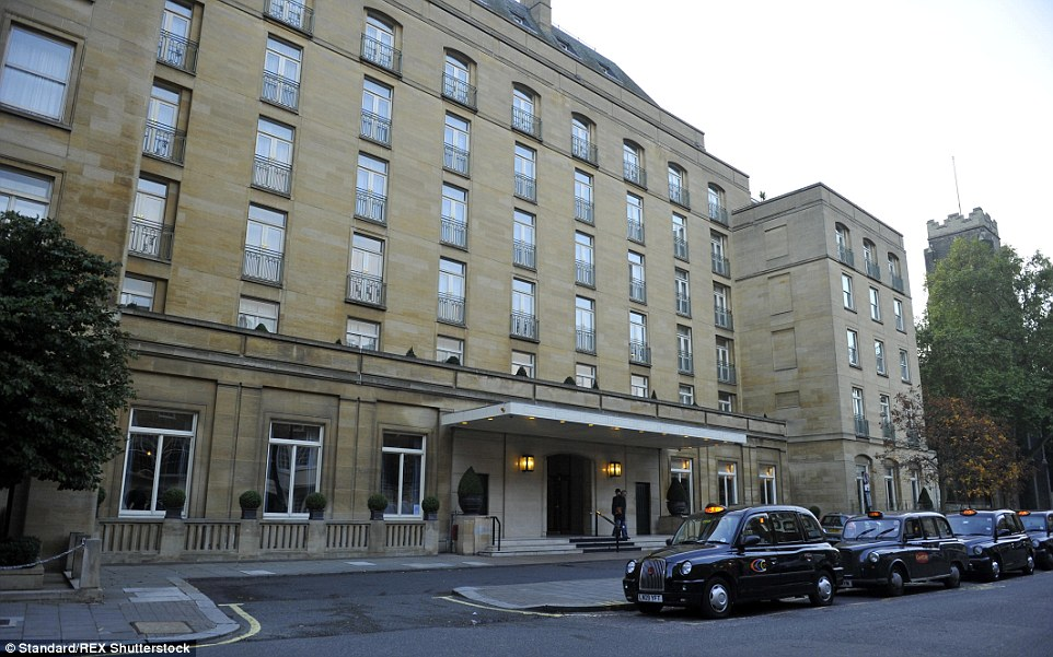 High-end: The Berkeley Hotel, in London's upmarket Knightsbridge, pictured, was added to Qatar's impressive property portfolio this week