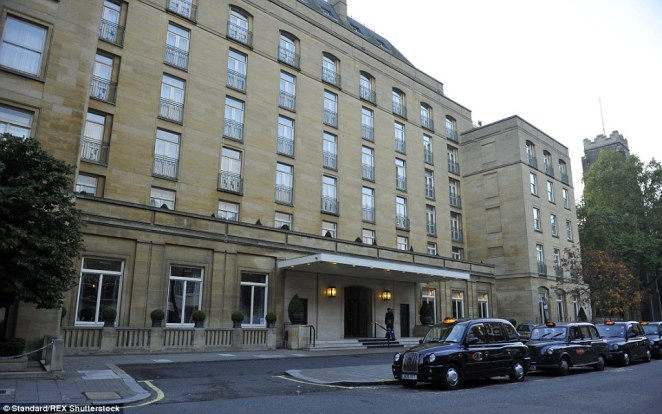 High-end: The Berkeley Hotel, in London's upmarket Knightsbridge, pictured, was added to Qatar's impressive property portfolio last year