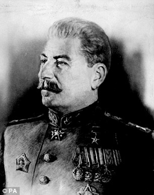 Plots: It suited Soviet leader Josef Stalin to let people think Hitler had escaped - but, in fact, his officers were keeping meticulous records of exactly what happened to the fuhrer's body