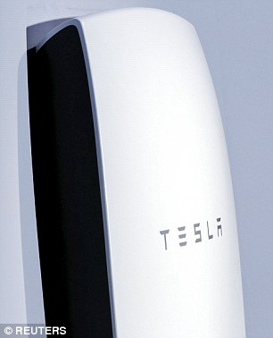 Tesla has unveiled a $3,000 (£1,980) home battery that can power an entire house for eight hours.Powerwall is three feet wide and four feet tall, weighs 220lbs, and can be installed on an outside or inside wall