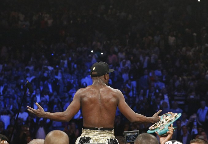 Mayweather confirmed after the fight that he will have one more contest - in September