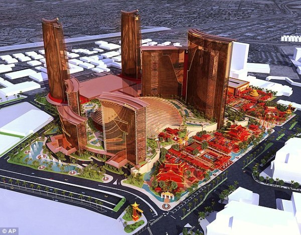 Construction begins on China themed mega-casino in Vegas ...