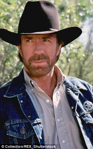 Chuck Norris Vs Special Forces In Texas Daily Mail Online