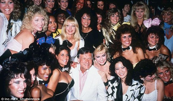 Hefner's wild parties appear to have been the inspiration for Mr Beynon's lavish lifestyle
