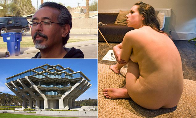 UC students strip unclad with male professor and perform 'erotic gesture' for art