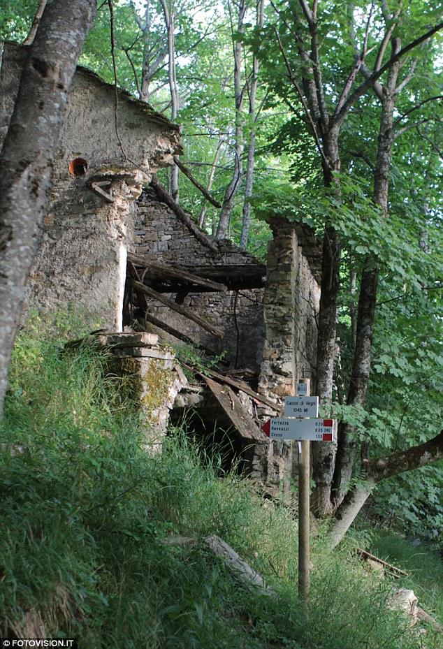 Non inquinata: Ci sono più di un paio di case in vendita in tutto cinque montagne a Carrega Ligure, Piemonte