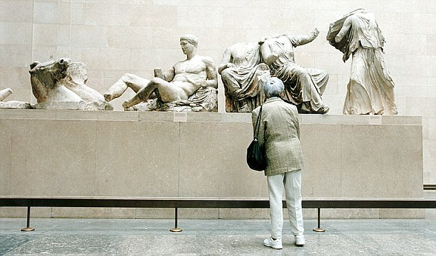 The Greek government has now backed down on the Elgin Marbles legal challenge and said it would follow a 'diplomatic and political' approach instead, arguing that the climate was slowly changing in Greece's favour