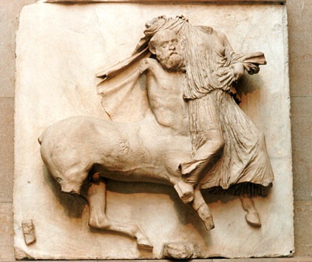 Elgin Marbles: The 5th century BC statues were removed from the Acropolis in Athens and bought by the British government in 1816