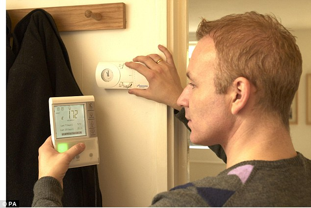 Not so clever: Smart meters are being rolled out across the country, but customers complain of errors