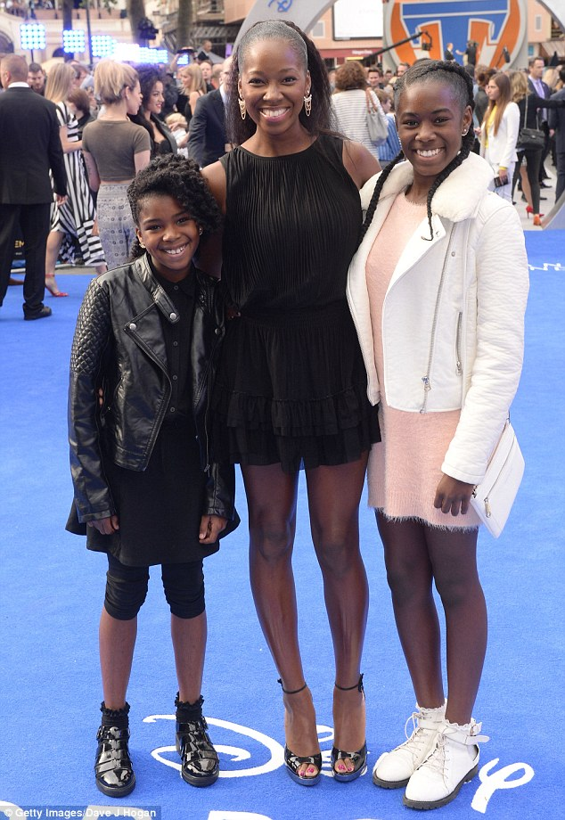 Jamelia attended the Tomorrowland Premiere