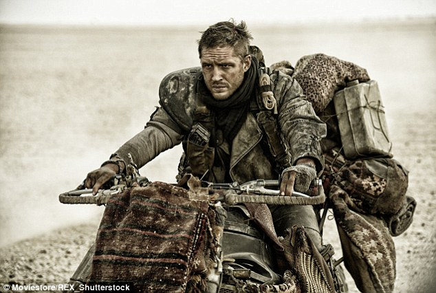 Enaglish actor Tom Hardy plays the lead role of Mad Max